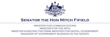 Senator the Hon Mitch Fifield logo