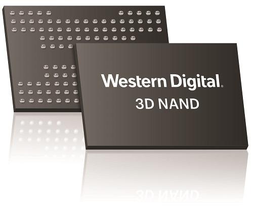 Western Digital 3D NAND package